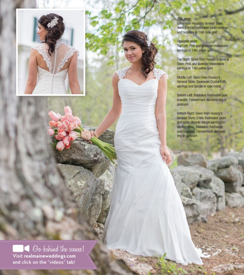 Check Out Photos Of Our Dresses And Advers In The Real Maine Weddings Magazine Copies Available At Hussey S