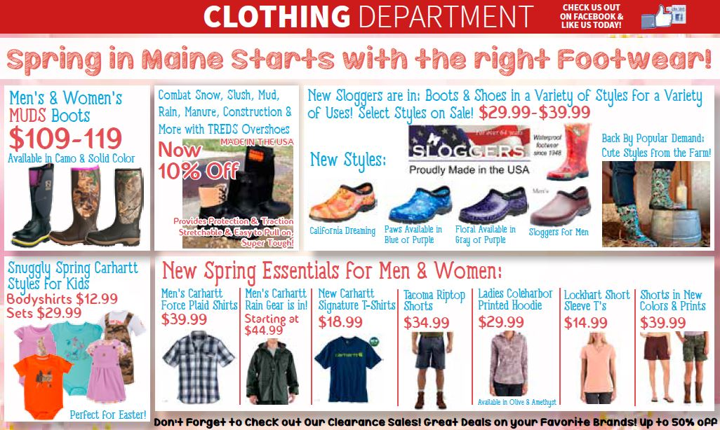 Clothing stores in augusta maine