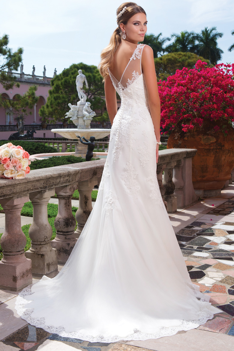 The Sweetheart Collection Husseys General Store - Covered Back Wedding Dress