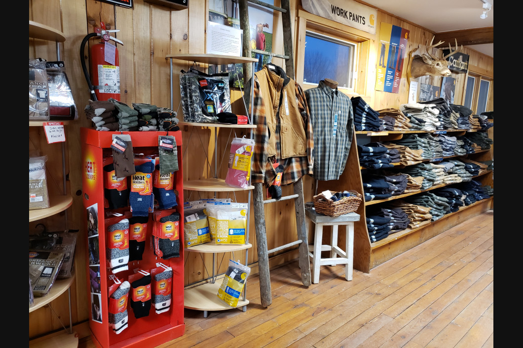 grocery, general store, sporting goods and hunting, bridal, feeds and grains,  Windsor, ME